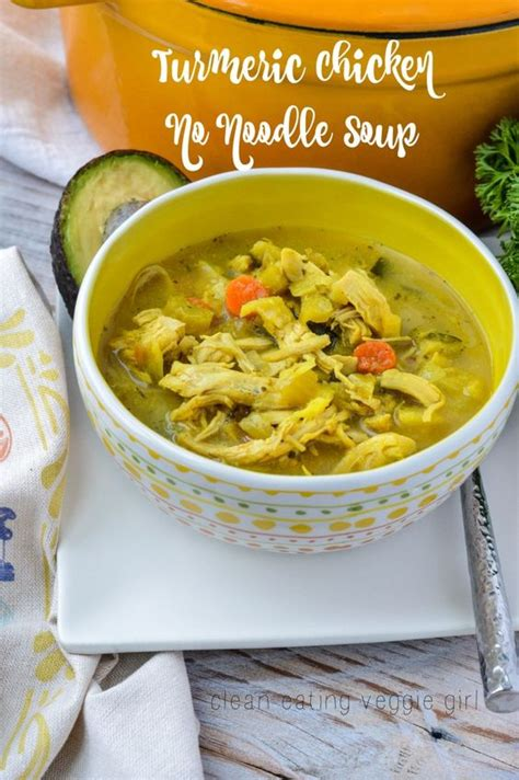 non gluten grains whole 30 turmeric chicken no noodle soup aip paleo gluten free