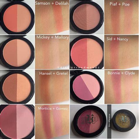 kat von d shade and light blush kat von d shade light blush duos piaf poe sid nancy