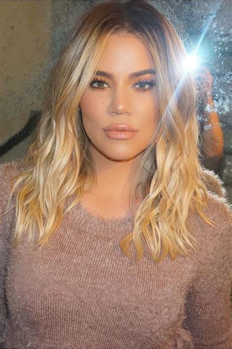 khloé kardashian debuts short lob 17 best images about hair trends on pinterest braids