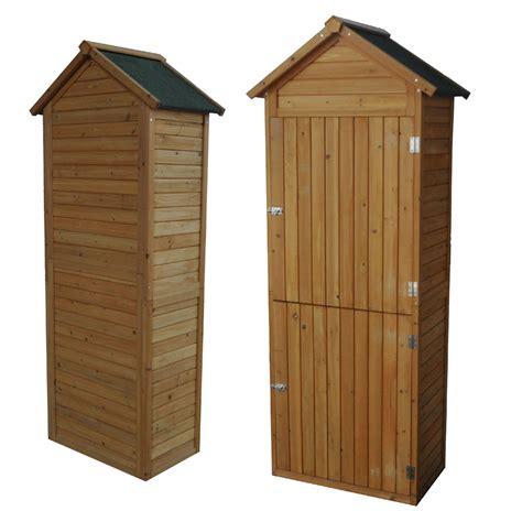 dispositivos casa cobertizo  herramientas de jardin armario de madera escamas  ebay