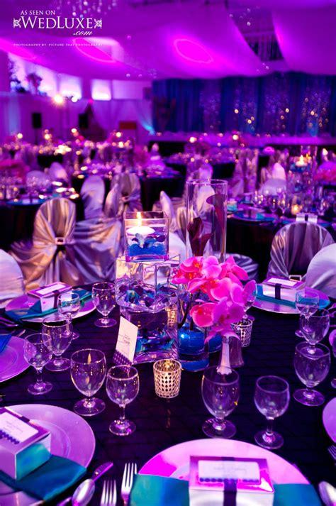 purple blue purple wedding receptions wedding ideas