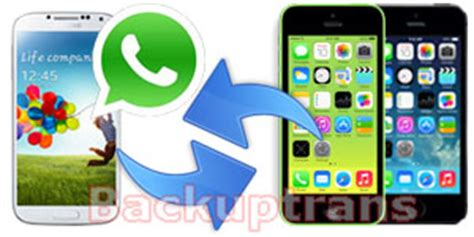 tutorial whatsapp migrator transfer all whatsapp messages from iphone to android