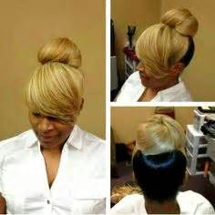 pic of black side swept bangs and bun hairstyle 1000 images about hairstyles on pinterest invisible
