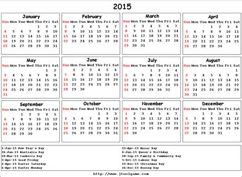 printable monthly calendar australia 2015 search results for 2015 2016 calendar with holidays