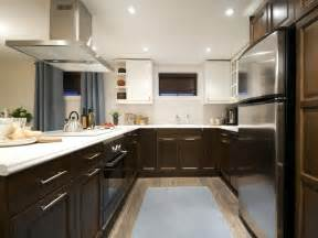 Two Color Cabinets Kitchen Two Tone Kitchen Cabinets Color For Contrast Renewal Traba Homes
