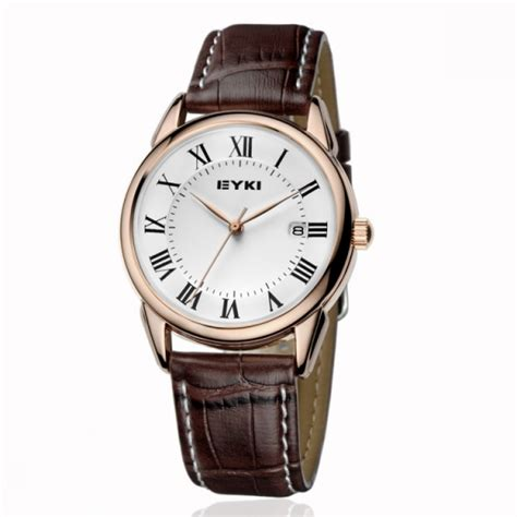 Jam Tangan Kulit Lv jam tangan kulit pria eyki non original