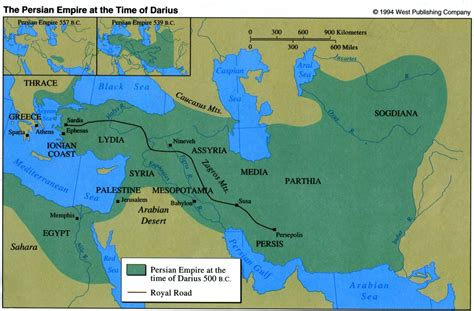 map of the great s empire darius the great o a r s