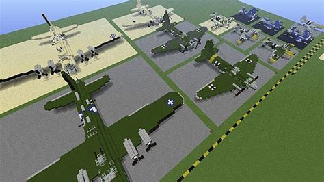 minecraft boat plane military museum fighter aircraft vehicles boats