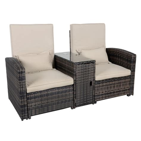 rattan reclining garden chairs antigua rattan wicker reclining sun lounger companion set
