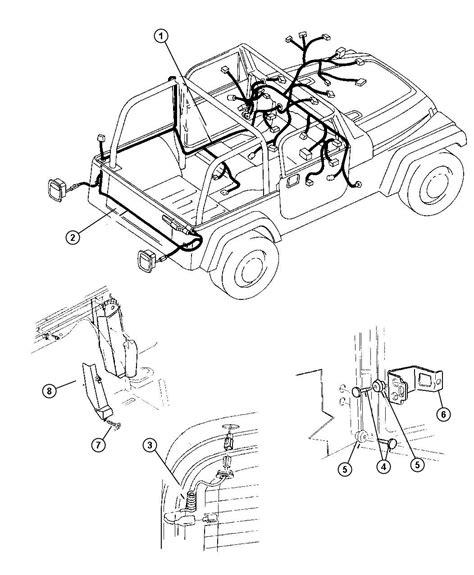 97 jeep wrangler wiring harness diagram 97 get free