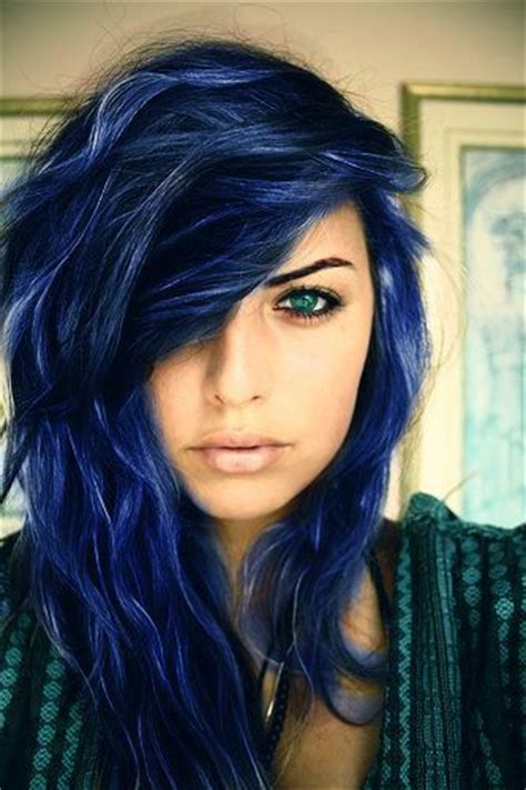 blue hair colors 5 midnight blue hair color ideas for a unique look