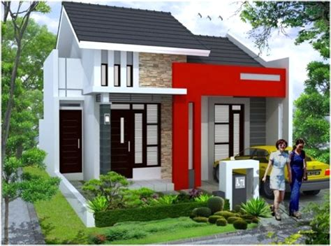 desain depan rumah elegan 65 model desain rumah minimalis 1 lantai idaman dekor rumah