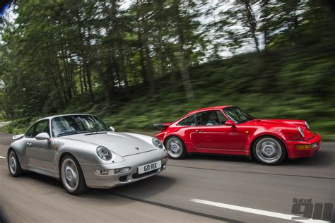 porsche 964 vs 993 40 years of the porsche 911 turbo total 911
