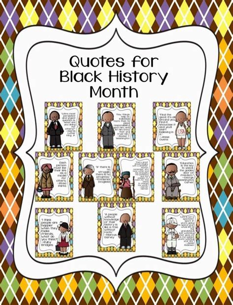 Printable Black History Quotes | black history month quotes free printables library