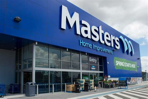 woolworths shuts its home improvement store masters