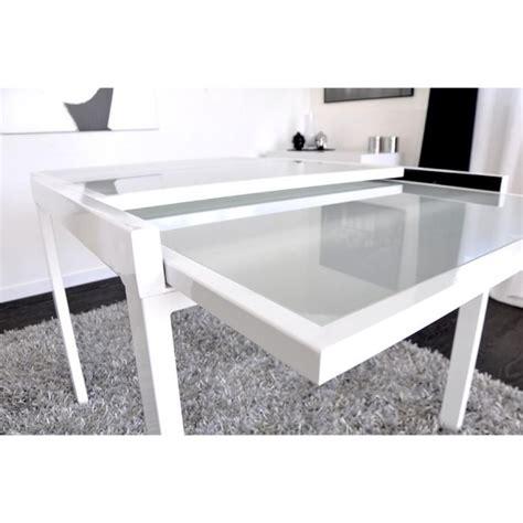 EXTEND Table extensible blanche 90/180cm   Achat/Vente