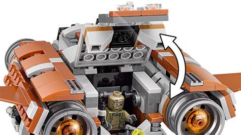 Lego Wars Jakku Quadjumper 75178 lego wars jakku quadjumper 75178 at mighty ape nz
