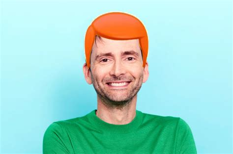 david tennant ginger why does doctor who star david tennant have ginger hair in