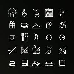 designspiration icons yha hostel signage on behance icons pinterest