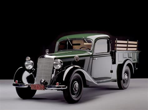 mercedes pickup x class not the first mercedes benz pick up in history