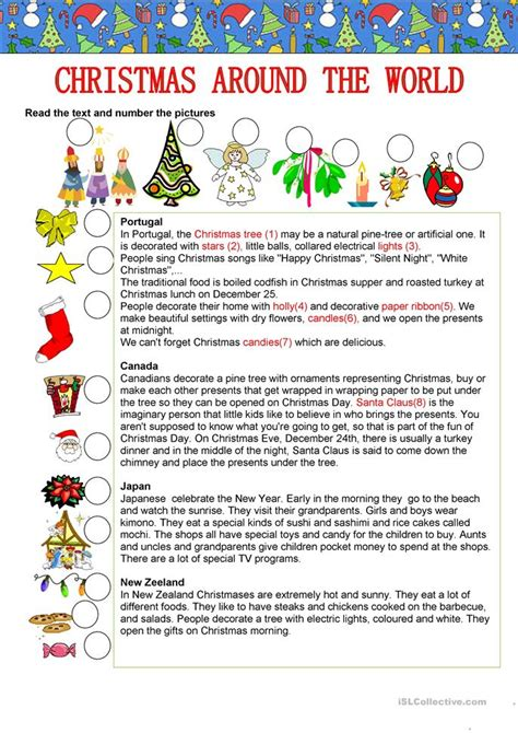 printable christmas reading worksheets free worksheets 187 christmas reading comprehension