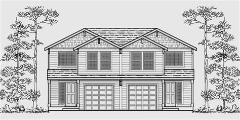 4 bedroom duplex house plans duplex house plans 20 wide house plans 4 bedroom duplex