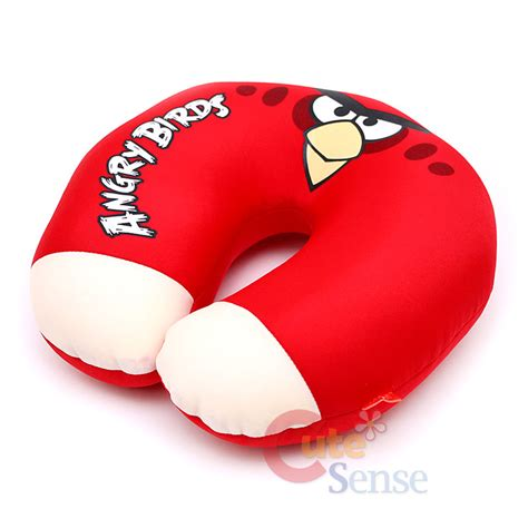 Angry Bird Pillow Pet by Angry Birds Bird Neck Rest Pillow Travel Cushion Rovio