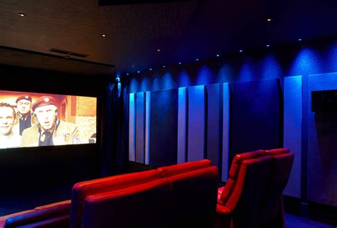 Blue Light Cinemas by Home Theatre Seating Ideas