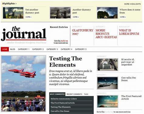 newspaper theme html 15 professional news wordpress themes dobeweb