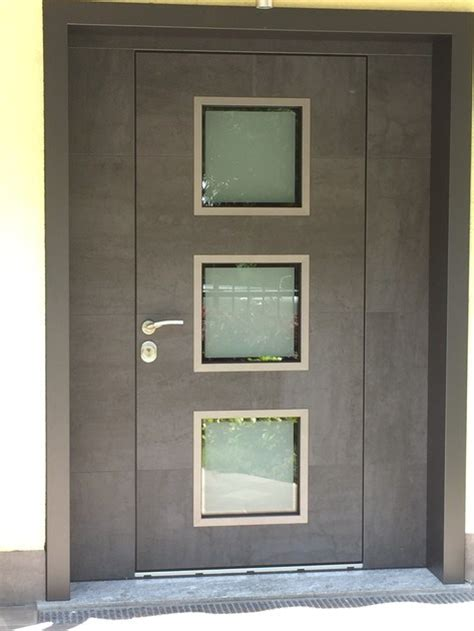 porta ingresso con vetro porta d ingresso blindata con pannelli in vetro frame