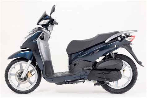 peugeot big peugeot celebrates with new big wheel lxr 125 scooter