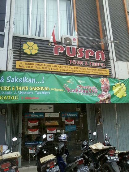 puspa tour and travel lung pariwisata