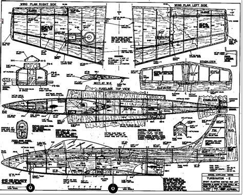 Wood Airplane Model Plans