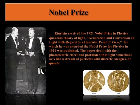 einstein biography nobel prize albert einstein