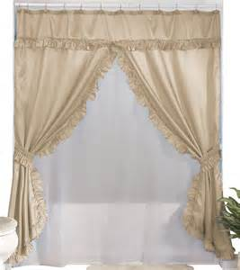 walterdrake swag shower curtains with valance ebay