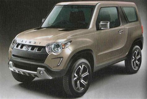 Suzuki Jimny Leaked Could This Be The Next Generation Suzuki Jimny