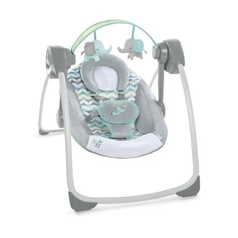 ingenuity portable swing ingenuity comfort 2 go portable swing jungle journey