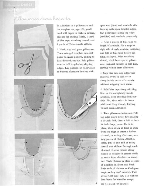 pillowcase dress how to everything sewing