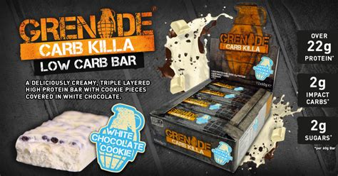 Top Protein Bar A New Addition To The Carb Killa Range Grenade