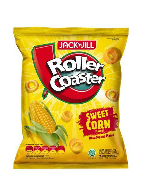 roller coaster snack jagung manis  klikindomaret