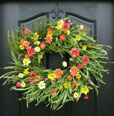how to make a spring wreath for front door six gorgeous spring wreaths to dress up your front door