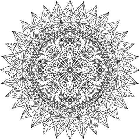libro divine mandala coloring book 113 mejores im 225 genes de mandalas coloring pages for adults en libros para colorear