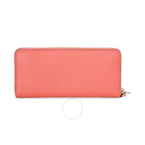 Michael Kors Chintya Small Grapefuit michael kors jet set travel leather continental wallet pink grapefruit jet set michael