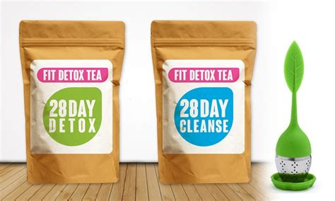 Perk 14 Day Detox Tea by Fitdetoxtea Deal Of The Day Groupon