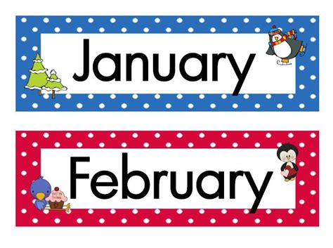 12th feb which day of week months of the year clip many interesting cliparts