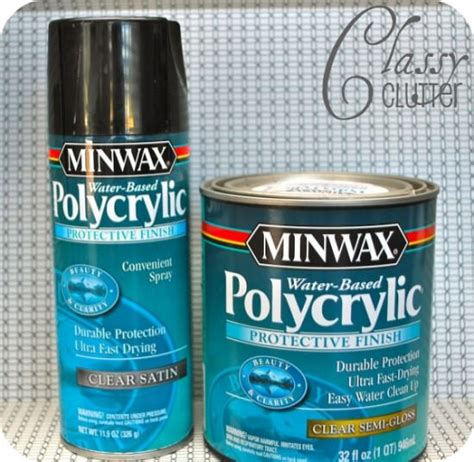 how to seal spray paint how to spray paint furniture in 5 easy steps tip junkie