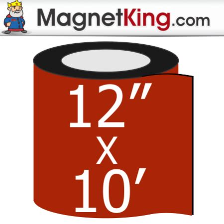 Magnet Roll 12 A Kosongan 12 quot x 10 roll thick plain magnet