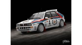 Lancia Rally Lancia Delta Rally 3d Library 3d Models Vehicles Transports
