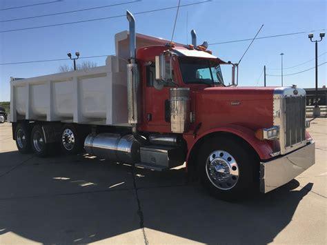 peterbilt dump truck peterbilt 379 dump trucks for sale used trucks on