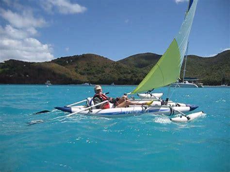 kayak sailboat sailboats to go 187 pathfinder ii kayak and sail kit